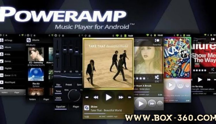Poweramp Music Player Logo