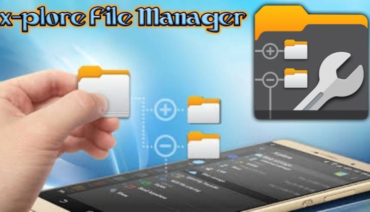 X-plore File Manager Logo