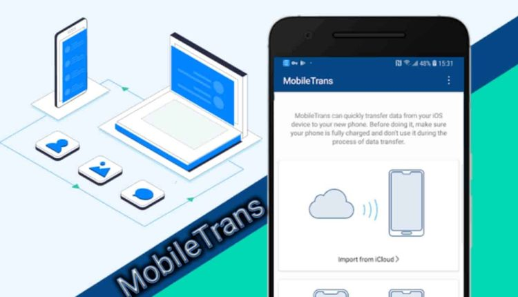 With MobileTrans, you can easily transfer files between devices