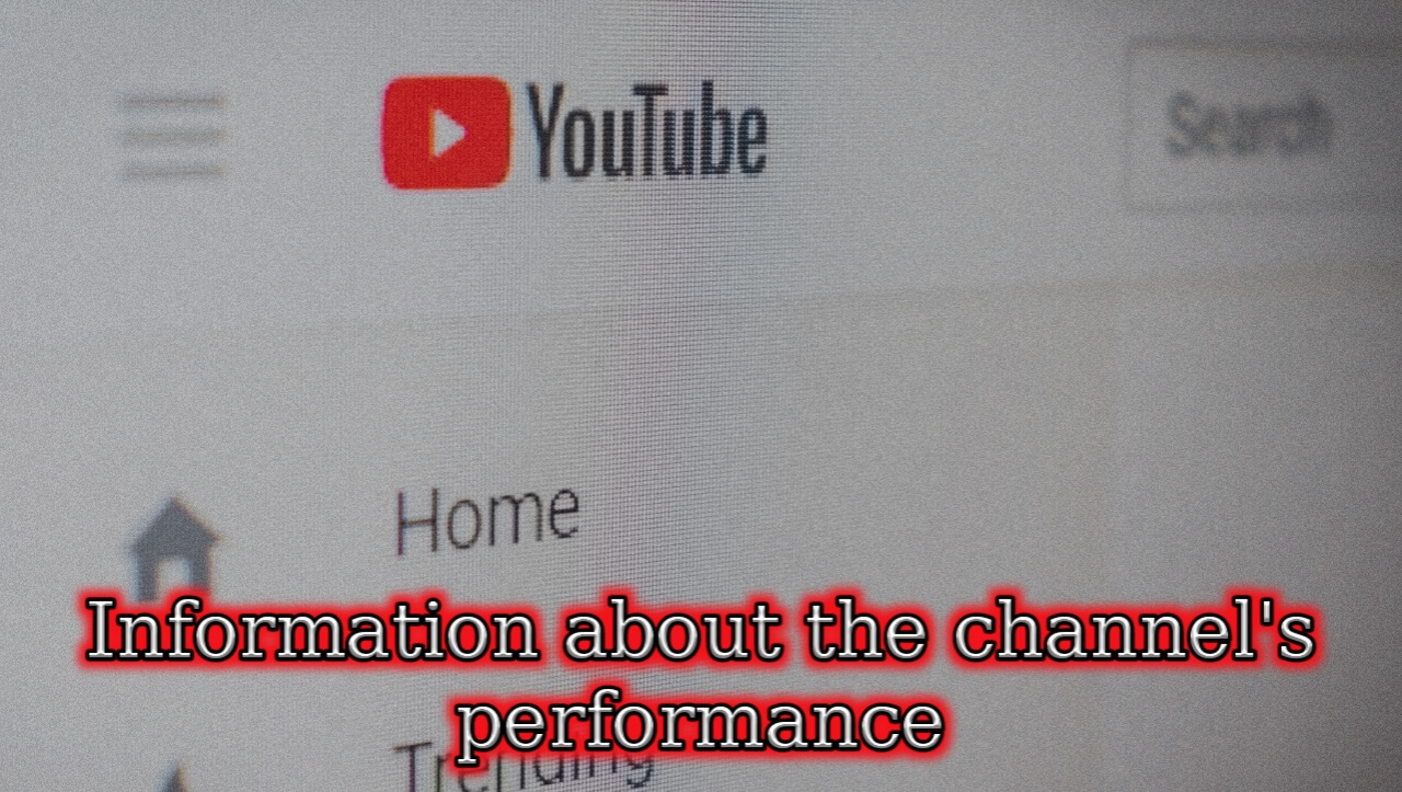 YouTube adds options to provide information about channel performance
