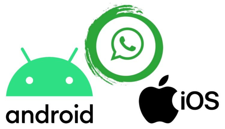 The feature of transferring chats between Android and iOS
