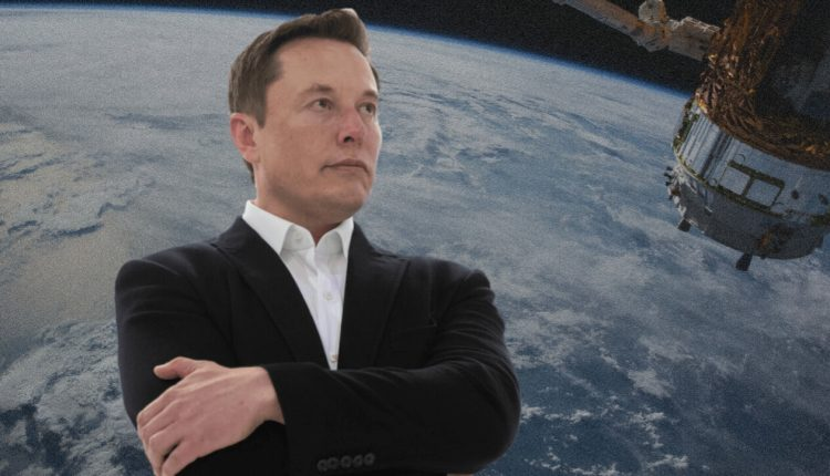 Why isn't Elon Musk traveling with SpaceX?